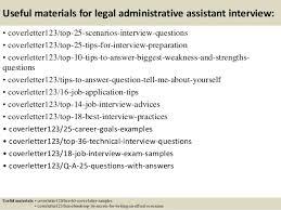 Resume Cover Letter Samples For Administrative Assistant Job by Legal Administrative Assistant Cover Letter