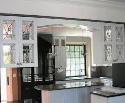 Glass Kitchen Doors Cabinets Add A Glass Kitchen Cabinet Doors With Mirror Mounting Items
