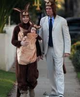 Kangaroo Halloween Costumes Alyson Hannigan Alexis Denisof Satyana Kangeroo Costume