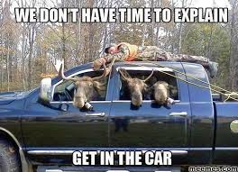 Meme Car - we don t have time to explain get in the car meme boomsbeat
