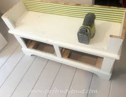 bench bookshelf turning a bookcase into a bench using old fashioned milk paint