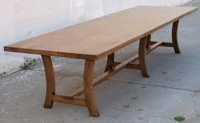 Custom Dining Room Tables Vintage Black Walnut Custom Built Dining Table For Sale At 1stdibs