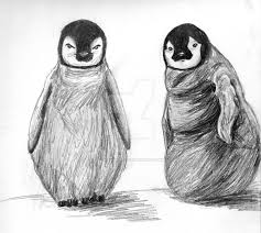 pictures penguin sketches image drawing art gallery