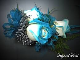 teal corsage 019 corsage