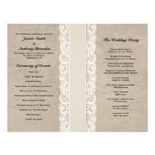 wedding programs exles wedding program exles by themes wedding ideas