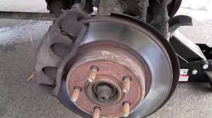 ford mazda 4x4 wheel bearing hub assembly replacement youtube