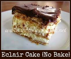 no bake eclair cake recipe eclairs country cooking and country