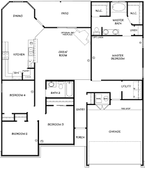 Dh Horton Floor Plans The Willow Ii Floor Plan Killeen Tx New Homes For Sale Special
