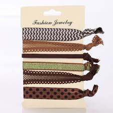 no crease hair ties aliexpress buy hot 6 pcs pack pattern colorful no
