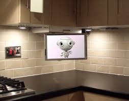tv in kitchen ideas flip cabinet tv for kitchen corner cabinet