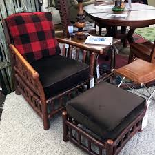 old hickory u003e grove park chair and ottoman