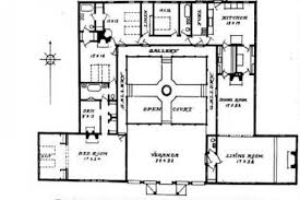 house plans with courtyards hacienda style house plans with courtyard small hacienda