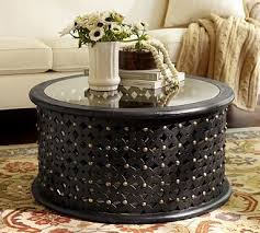 antique round coffee table 10 ideas of modern black round coffee table set