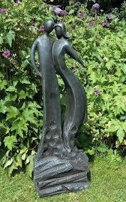 large contemporary sculptures modern garden statue