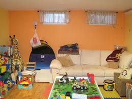 basement playrooms painting walls bright colors is alw