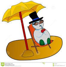 tropical snowman clipart clipartxtras
