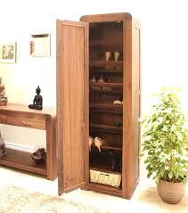 Small Hallway Table Outdoor Storage With Shelves M Ethnic Unfinished Hardwood Shoe