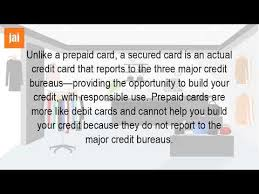 prepaid credit card to build credit do prepaid credit cards help build credit