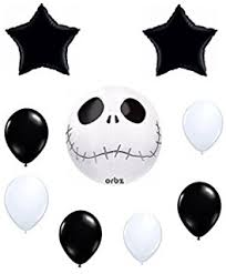3 nightmare before 18 foil balloons toys