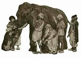 Blind Man And Elephant Blilnd Men And Elephant