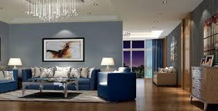 Blue Living Room Furniture Ideas Luxury Living Room Design With Blue Sofa Decobizz