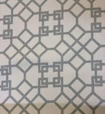 Cotton Linen Upholstery Fabric Windsor Smith Home Modern Lattice Grid High End Kravet Cotton