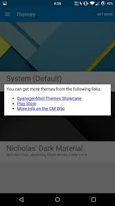 cyanogenmod themes play store get early access to cyanogenmod 12 s theme engine on your oneplus