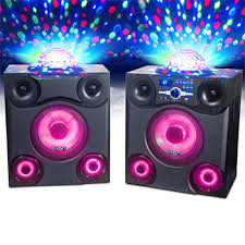 ion portable speaker system with party lights ion mega party express wireless speakers with party lights costco