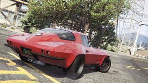 corvette stingray matte black vehicle wip release 1966 chevrolet corvette stingray from f u0026f8
