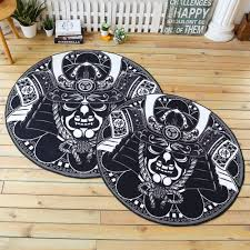 Schlafzimmer Teppich Rund Einfache Schwarz Weiß Home Runden Teppich Und Teppich Für