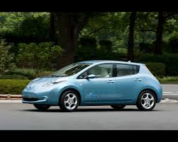 nissan leaf electric car review leaf electric prototype 2009