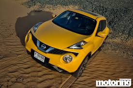 nissan juke yellow spoiler 2015 nissan juke review with videomotoring middle east car news