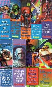 Printable Goosebumps Bookmarks | 90s goosebumps bookmarks goosebumps party pinterest bookmarks