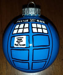 dr who christmasornament easy to make dr who dr