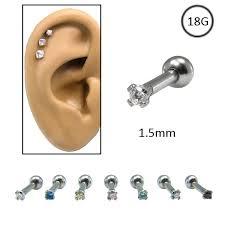 cartilage earrings canada ear cartilage piercing jewelry
