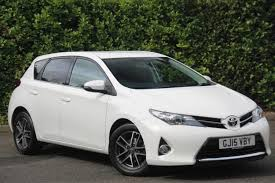 used toyota auris hatchback for sale motors co uk