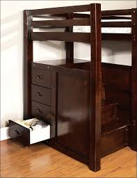 bedroom amazing full size loft bed with desk queen size bunk