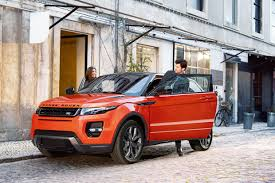 burnt orange range rover the motoring world range rover evoque autobiography dynamic to