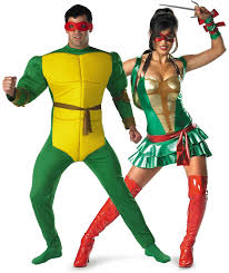 tmnt michelangelo and tmnt turtle couples costumes