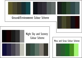 colour scheme cine pallet color script storyboard
