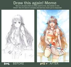 Draw It Again Meme - draw this again meme by rm parfait deviantart com art draw
