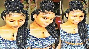 easy and showy braids hairstyles for natural hair 2017 youtube