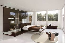Sliding Bookcase Murphy Bed Minimalist Bedroom Design For Small Rooms Mirror Paneled Wall Low