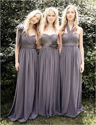 gray bridesmaid dress gray bridesmaid dresses yuman dakren