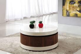furniture horibble black wood rectangular coffee table decor