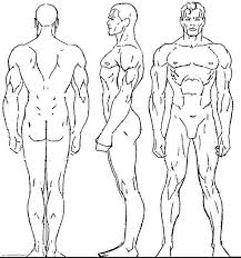 male human body coloring pages coloring sky