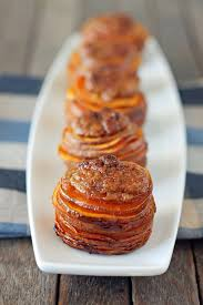 sweet potato casserole stacks emily bites