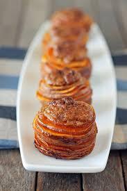 sweet potato casserole stacks emily bites