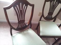 how to reupholster a dining room chair how i helped my sister re upholster her dining chairs