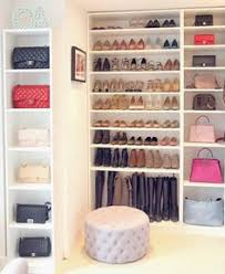 i am no imelda marcos but showing me this shoe closet is like